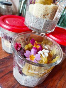 Dessert aux graines de chia