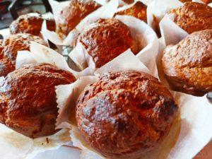 Muffins sucrés aux pois chiche sans gluten
