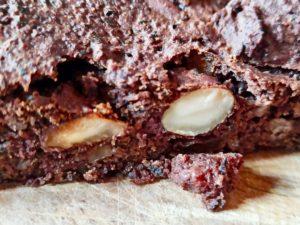 Brownie au chocolat et haricots noirs